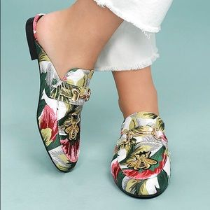 New Steve Madden Kandi Bright Multi Loafer Slides